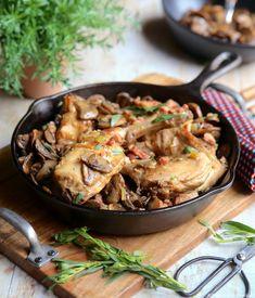 Le lapin est une viande maigre et savoureuse qui mérite d'être redécouverte. Vous vous régalerez avec cette recette.  #LeLapinFaitesVousRemarquer #EnjoyitsfromEurope🇪🇺 Japchae, Turkey, Cooking Recipes, Chicken, Dinner, Ethnic Recipes, Delaware, Bordeaux, Foodies