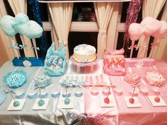 Gender Reveal Baby Shower #genderreveal #babyshower