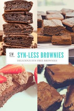 Slimming World Brownies - ½ Syn Chocolate Brownies -You can find Slimming world snacks and more on our website.Slimming World Brownies - ½ Syn Chocolate Brownies - Slimming World Flapjack, Slimming World Cookies, Slimming World Brownies, Slimming World Deserts, Slimming World Vegetarian Recipes, Slimming World Puddings, Slimming World Tips, Slimming World Dinners, Slimming Eats