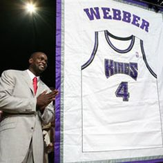 c webb jersey Wolverines Basketball, Basketball Players, Chris Webber, Man Cave Accessories, Celebrities, Athletes, Coat, Sports, Amazing