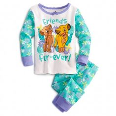Friends Fur-ever THE LION KING PJ Pal :: for girl <3