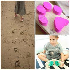 divertidas sandalias. Moda Infantil divertida