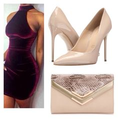 """Night out with bae"" by jaiilene ❤ liked on Polyvore featuring Massimo Matteo and ALDO"