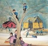 I love artist, P. Buckley Moss - Country Spirit Original Watercolor