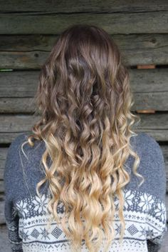 ombre hair- my favourite. this is probably more of my hair color.