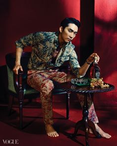 Song Seung Hun - Vogue Magazine May Issue '14
