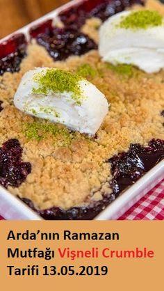 Vişneli Crumble Tarifi – Kurabiye – The Most Practical and Easy Recipes Cooking Recipes, Healthy Recipes, Tart, Food To Make, Food And Drink, Health Fitness, Favorite Recipes, Homemade, Ethnic Recipes