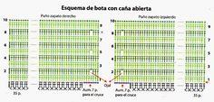 2 MODELOS DE BOTAS PARA TEJER A CROCHET CON BUENA EXPLICACION | Patrones Crochet, Manualidades y Reciclado