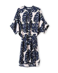 Hibiscus Print Dress