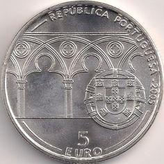 Wertseite: Münze-Europa-Südeuropa-Portugal-Euro-5.00-2005-João XXI