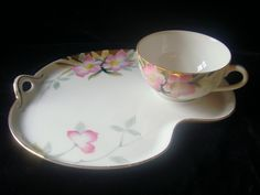 And my love affair with Noritake Azalea continues. This pattern has the most amazing completer pieces!!