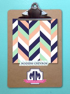 Re-pin your favorite of our top 16 selling patterns! Pattern with the most re-pins will be 50% off on March 25th! #monogram #maydesigns #modern #chevron
