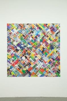 Tom Friedman, Untitled (circuit collage), 2015, Contemporary