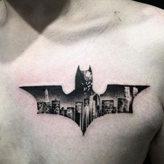A Number Of People Are Showing Their Love For The Character By Applying Batman Tattoo Some Apply Basic Symbol But Its Up To You