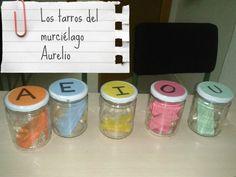 INICIO LECTOESCRITURA: Los tarros del murciélago Aurelio