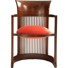 Frank Llyod Wright Barrel Chair at 1stdibs ❤ liked on Polyvore