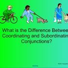 An interactive Smartboard lesson and activities on coordinating and subordinatin. English Language, Language Arts, Subordinating Conjunctions, Sentence Structure, Teaching Grammar, Therapy Ideas, Kids Learning, Middle School, Teaching Ideas