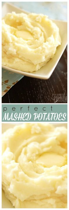 Looking for the perfect mashed potatoes recipe? These mashed potatoes are light and fluffy and buttery, and the perfect side dish for turkey and gravy or roasted beef or pork. Thanksgiving Recipes, Holiday Recipes, Great Recipes, Favorite Recipes, Yummy Recipes, Vegan Recipes, Dinner Recipes, Dessert Recipes, Turkey Side Dishes