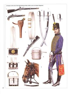 A Hussar at the end of the Revolutionary Wars of the Kaiser Regiment. Paranormal Experience, Austrian Empire, Osprey Publishing, Austro Hungarian, Army Uniform, French Revolution, Napoleonic Wars, Military History, Hungary