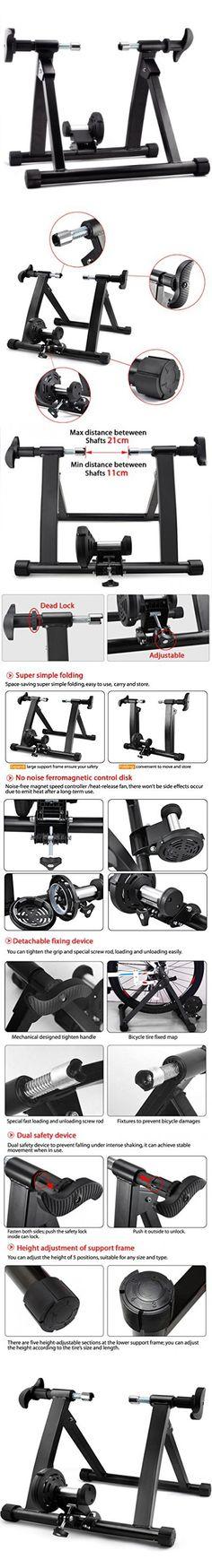 Yaheetech Premium Steel Bike Bicycle Indoor Exercise Trainer Stand