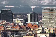 Munţii Carpaţi, vizibili din centrul Capitalei. Meteorologii explică de ce apare acest fenomen