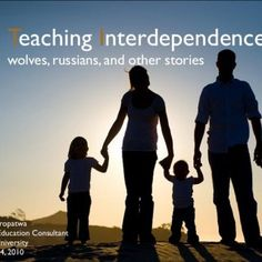 Teaching Interdependence wolves, russians, and other stories Darren Kuropatwa Manitoba Education Consultant Brandon University February 24, 2010   Say a l. http://slidehot.com/resources/teaching-interdependance-v1.54989/