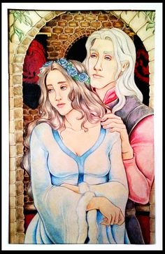 So this was my final for my Intermediate Figure Drawing class, and the assignment was to do 2 or more figures in a composition, and I decided to do Rhaegar Targaryen and Lyanna Stark for mine This . Arya Stark, Figure Drawing, Painting & Drawing, Jon Snow, Rhaegar And Lyanna, Daenerys Targaryen, Game Of Thrones Art, Loki, Disney Characters