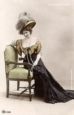 1910 Edwardian Lady Constance Drever by ShutterlyHappy, via Flickr