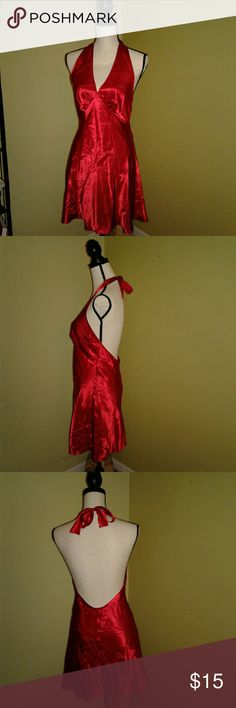 Frederick's Of Hollywood Red Lingerie Night Gown Very pretty, sexy, silky feeling nighty by Frederick's of Hollywood in a beautiful red color, size Medium. Frederick's of Hollywood Intimates & Sleepwear Chemises & Slips