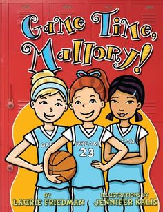 New Mallory! For #23, she's joining the basketball team. But the comparison with Mallory and Michael Jordan sadly end there... How can Mallory contribute to the team? Find a free sample chapter of Game Time, Mallory! on our website.