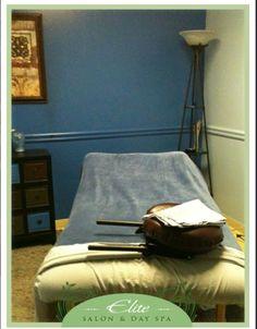 Elite Salon & Day Spa Blue Room for Treatments