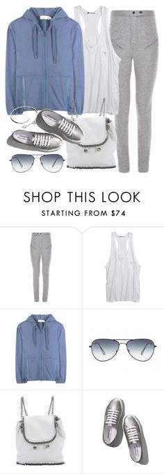 """""""Untitled #19500"""" by florencia95 ❤ liked on Polyvore featuring Isabel Marant, Alexander Wang, adidas, Oliver Peoples, STELLA McCARTNEY, Abercrombie & Fitch, Cartier, women's clothing, women's fashion and women"""
