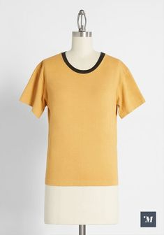 Cap Sleeve Top, Short Sleeve Tee, Cotton Tunics, Cotton Tee, Donna Pinciotti, Goodie Two Sleeves, Ribbed Cardigan, Fashion Gallery, Piece Of Clothing