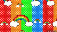 Resultado de imagen para rainbow and clouds background