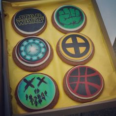 Gingerbreads, cookies, Marvel, Movies