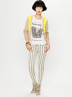 Free People Force of Nature Striped Skinny, $288.00