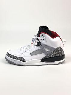 9ed740e8b Nike Air Jordan Spizike Basketball Sneakers White Cement 315371-122 Men  Size 11   eBay