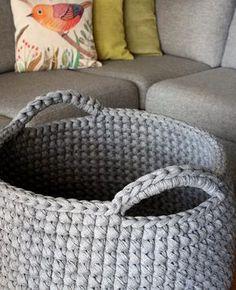 DIY Free Crochet Floor Basket Pattern - Crocht