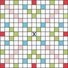 Scrabble Grid for a classroom