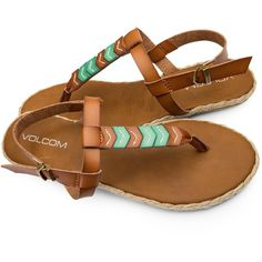 Volcom Women's Trails Sandals