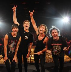 Happy 4th bandbirthday 5sos! Two long years together it's been for us. You guys help me through so much, and still are. Your music is amazing beyond words. I'm proud to say, you guys made it.  Keep it up! -Betsy strayer