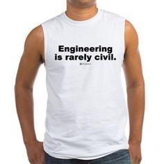Civil Engineering - Men's Sleeveless Tee