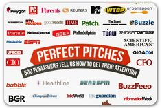 Pitching tips from 500 online publishers | Articles | Main