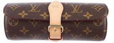 Louis Vuitton Monogram 3 Watch Case by Louis Vuitton  Louis Vuitton Monogram 3 Watch Case by Louis Vuitton
