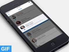Animated UX Concepts for Mobile Applications - UltraLinx