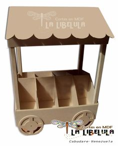 Kiosquitos Para Candy Bar Mesa De Dulces En Mdf - Bs. 4.190,00 en MercadoLibre
