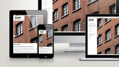 webdesign voor Dam Architecten