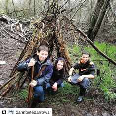 We had an great day fishing building forts chasing bunnies finding all types of mushrooms and getting totally soaked and muddy! (Repost @barefootedarrows ) . . . @homeschoolingwiththewalkers  #forestschool #homeschool #homeschooling #charlottemason #wildexplorersclub #wildandfreemama #wildandfreechildren #familynatureclub #sticksNstones #naturestudy #naturelover #nature #iwasbornwild #ditchingsuburbia #BringTheKids #wildandfreegroups