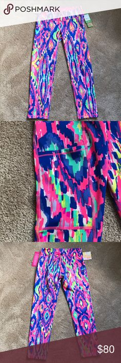 Luxletic pants These pants are new with tags still attached. They fit a little above the ankle Lilly Pulitzer Pants Leggings