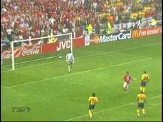 1m 10s - Henrik Larsson diving header vs. Bulgaria, Euro 2004